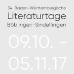 Schreibarbeit – Literaturtage Böblingen / Sindelfingen