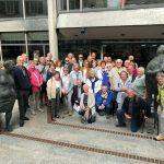 Dronfielder Bürger in Sindelfingen auf Gegenbesuch